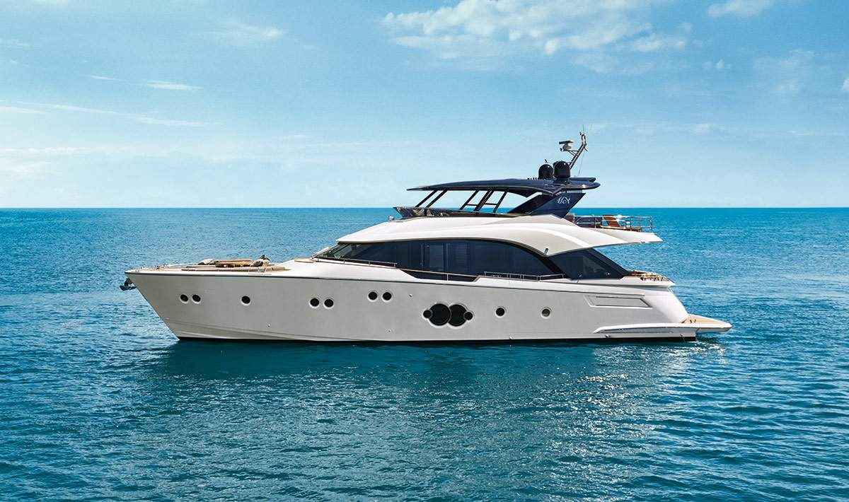 Mcy 80 for sale 50 north yachts