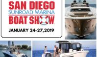 SAN DIEGO SUNROAD BOAT SHOW  – JANURAY 24-27, 2019