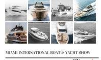 MIAMI BOAT SHOW – FEBRUARY 14-18, 2019