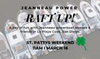 JEANNEAU POWER RAFT UP MARCH 16, 2019